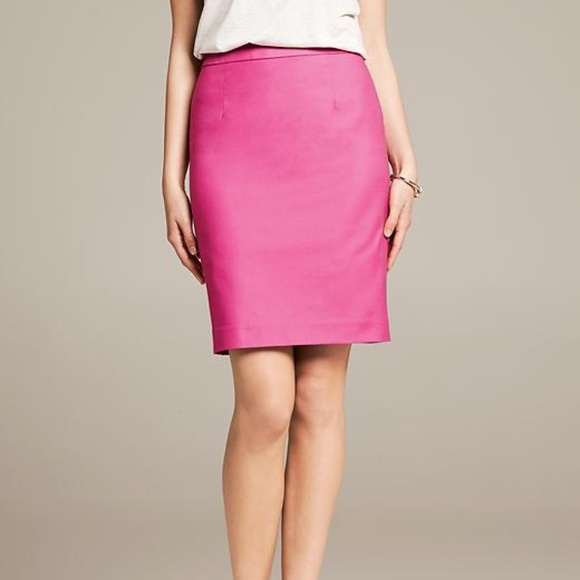 Burberry Dresses & Skirts - Authentic Burberry London Pink Pencil Skirt